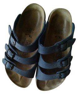Birki's by Birkenstock Navy Blue Sandals