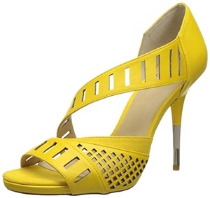 GX by Gwen Stefani Cut-out Yellow Pumps