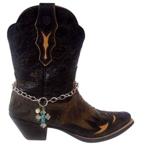 Ariat Dahlia Snip Toe Leather Brown Boots