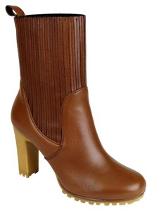 Gucci Leather Heel Cuir Boots