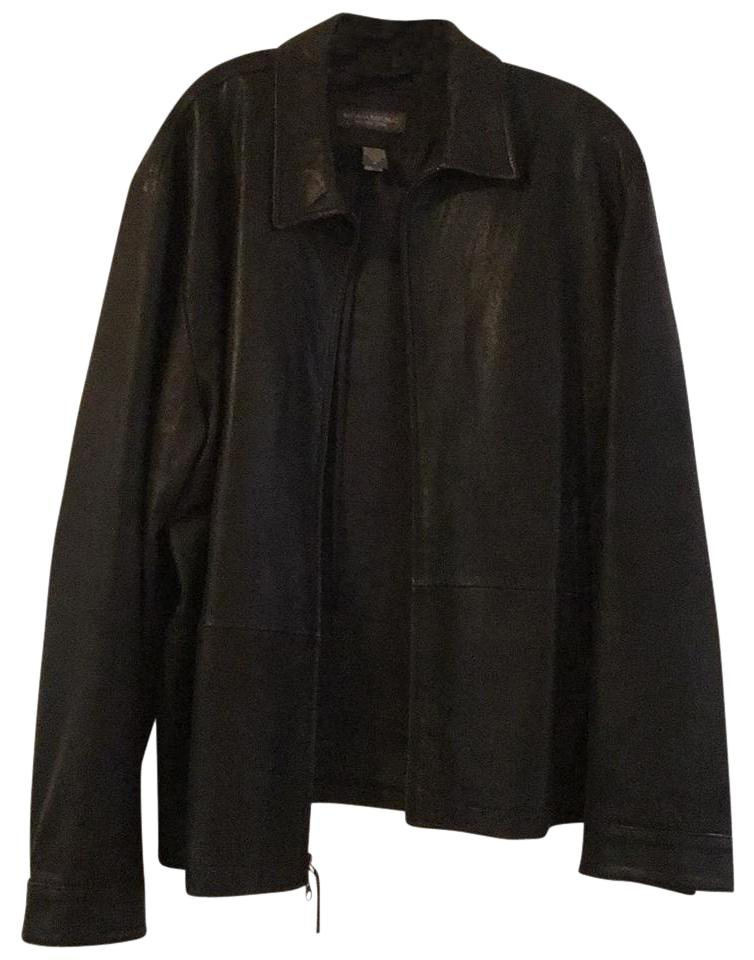 select for latest big clearance sale marketable Banana Republic Black XL Factory Outlet Men's Faux Jacket Size 16 (XL, Plus  0x) 73% off retail