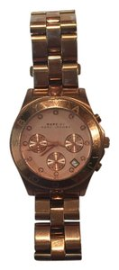Marc by Marc Jacobs Blade Chronograph Rose Dial Ladies Watch (MBM3102)