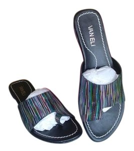 Vaneli New Black/ multi Sandals