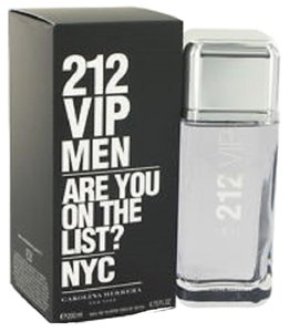 Carolina Herrera 212 VIP by C. Herrera 6.7 oz / 200 ml EDT Spray for Men's HUGE SIZE.