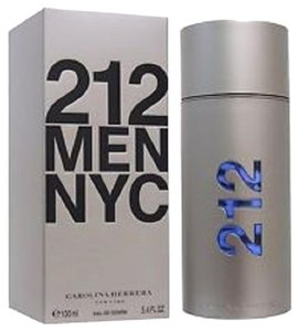 Carolina Herrera 212 BY Carolina Herrera 6.7 oz / 200 ml EDT Spray ,Men's HUGE SIZE.