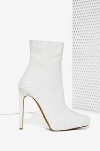 Jeffrey Campbell White Boots