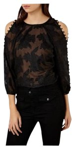 Karen Millen Top BLACK