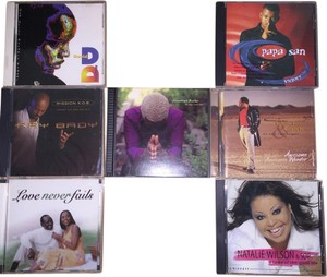 Other Gospel Artists 7- CD Set; Kurt Carr, Johnathan Butler, Papa San, Natalie Wilson & SOP, Ray Bady, David Dawson, Magee & McNair [ SisterSoul Closet ]
