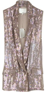 3.1 Phillip Lim Sequin Silk Sparkle Vest