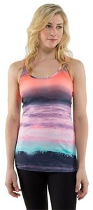 Lululemon Lululemon Beachscape Cool Racerback Tank Size 6 Small Multicolor
