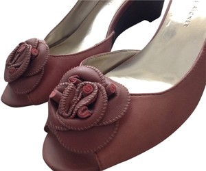 Etienne Aigner Dusty Pink Wedges