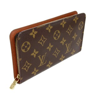 Louis Vuitton Louis Vuitton Signature LV Monogram Porte Monnaie Zippy Gold