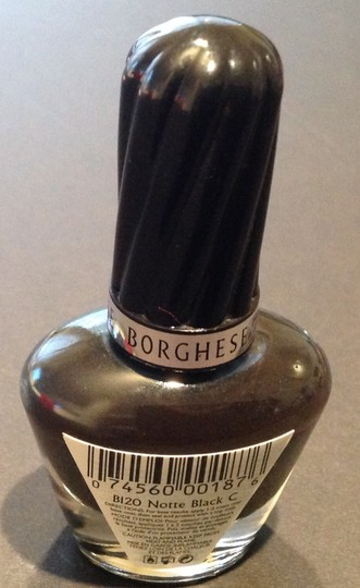 Borghese Borghese Nail Lacquer Vernis B120 Notte Black