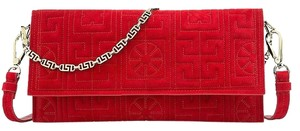 Versace Red Clutch
