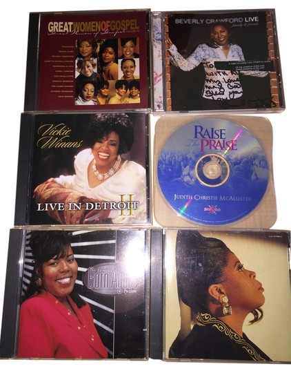 Other Women of Gospel 6- CD Set; Vanessa Bell Armstrong, Tamika Patton, Judith Christie McAllister, Vickie Winans, Beverly Crawford, Daniebelle Hall, Shirley Murdock, The Clark Sisters, Cece Winans [ SisterSoul Closet ]