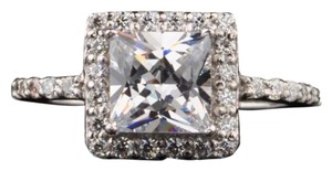 Other New 3.5ct Simulated Diamond Solid 14k White Gold Ring