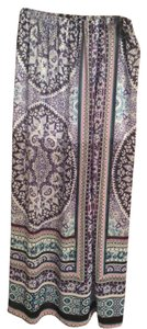 Express Maxi Skirt Blue Multi