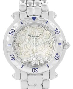 Chopard Chopard Happy Sport Snowflake Floating Diamonds Watch 27/8949