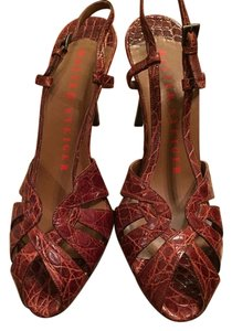 Walter Steiger Leather Brown Pumps