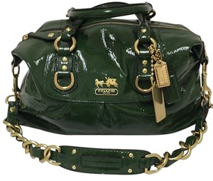 Coach Madison Satchel in Green