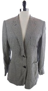 Ralph Lauren Houndstooth BLACK AND WHITE Blazer