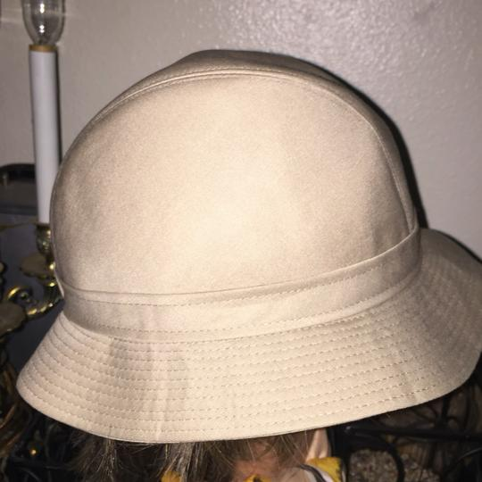Burberry Burberry Made in England Men's/Women's Hat Fedora Khaki Size 7 Image 6
