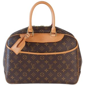 Louis Vuitton Deauville Brown Travel Bag