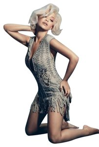 Roberto Cavalli Deep Decolette Sexy Embellished Stunning Sold Out Dress
