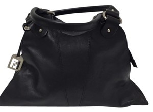 Fendi Leather Satchel in Black