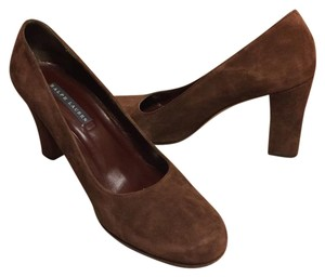 Ralph Lauren Rich Chocolate Brown Pumps