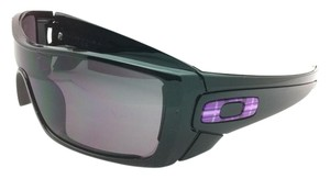 Oakley Oakley Sunglasses BATWOLF OO9101-08 Polished Black w/ Warm Grey Lenses
