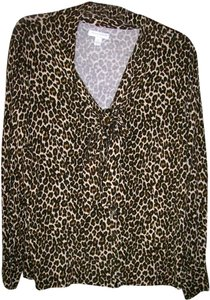 Charter Club Top Animal Print