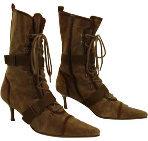 Diesel Brown, green, lime Boots