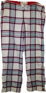 Abercrombie & Fitch & Pajama Pants L Plaid Leggings
