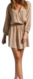 Joie short dress Warm chestnut on Tradesy