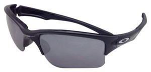 Oakley OAKLEY Sunglasses QUARTER JACKET OO9200-01 Black Frame w/ Mirror