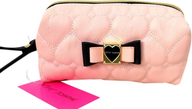 """Item - Blush Pink """"Be Mine"""" Boxed Cosmetic Bag"""