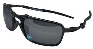 Oakley Polarized OAKLEY Sunglasses BADMAN OO6020-01 60-21 Dark Carbon Frame