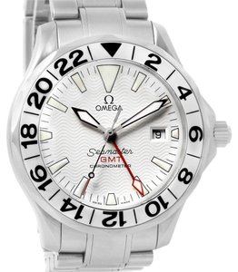 Omega Omega Seamaster GMT White Dial Automatic Mens Watch 2538.20.00