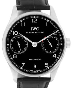 IWC IWC Portuguese Chrono 7 day Power Reserve Watch IW500109 Box Papers