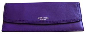 Coach Coach Purple Long Wallet