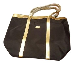 St. John Tote in Black and Gold