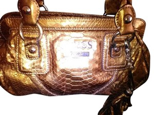 Guess Satchel in Gold Bronze