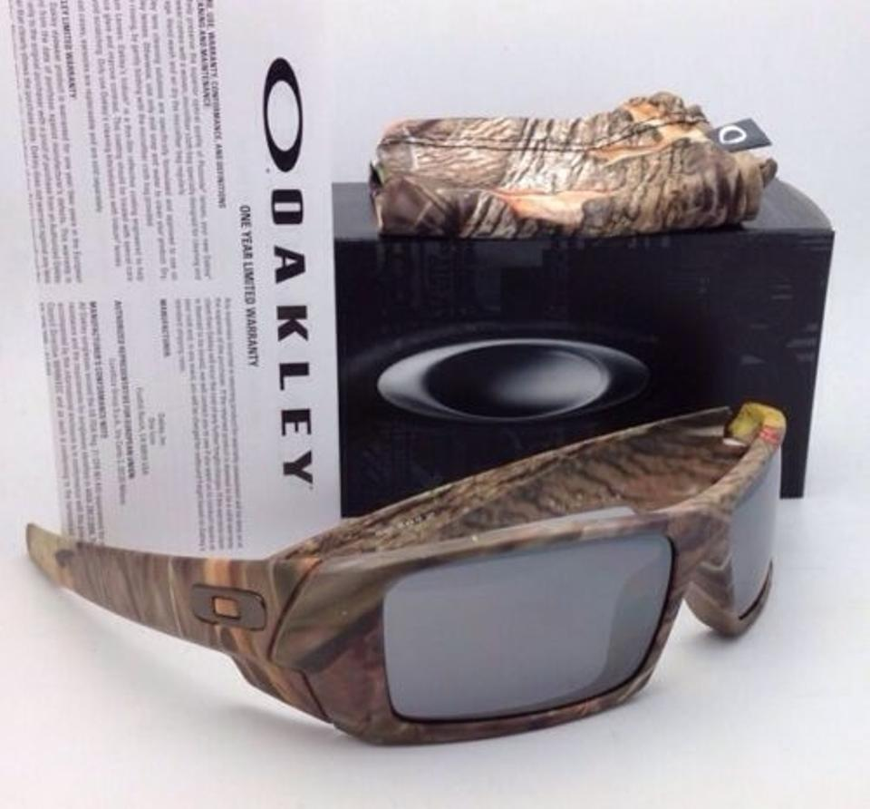 da54562b613 Oakley 03-483 Gascan King s Woodland Camo Frame W Black Iridium W Black  Sunglasses