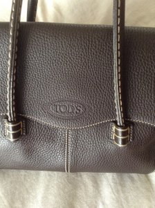 Tod's Made Italy Genuine Leather Shoulder Bag