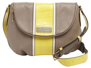 Marc by Marc Jacobs New Q Croc Striped Natasha 888877494951 Cross Body Bag