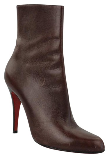 Christian Louboutin Oxblood Boots