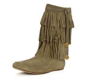 Gucci Taupe Boots