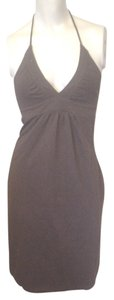 Victoria's Secret short dress Brown Halter on Tradesy