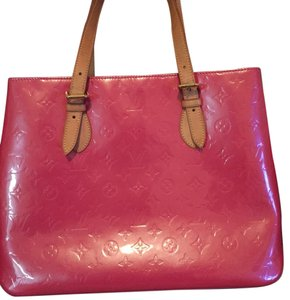 Louis Vuitton Patent Leather Pink Tote in Fuschia